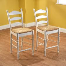 Tall Ladder Back Chairs With Rush Seats by Ladder Back Rush Seat Counter Stools 24