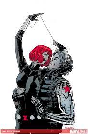 Black Widow Winter Soldier Between Natasha Romanoff And Bucky Barnes