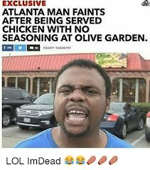 EXCLUSIVE ATLANTA MAN FAINTS AFTER BEING SERVED CHICKEN WITH NO
