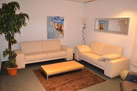 nove couchgarnitur in leder ausstellungsstück abholung