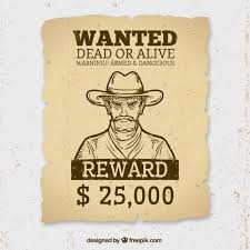 Wanted Dead Vectors s and PSD files