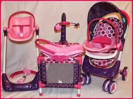 Baby Doll Bed And Highchair