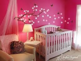 Decoration For Girl Bedroom Baby Room Decorating Ideas S Wall Paint Weedecor Part Nursery