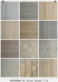 china 3d office commercial decorative carpet tiles for sale