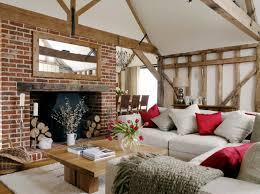 wohnzimmer neu gestalten ideen im landhaus look
