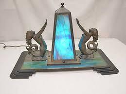 Haeger Pottery Lamps Vintage by Black Ceramic Mermaid Lamp Mermaid Lamp Blue And Bronze U2013 Modern