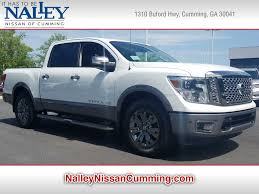 New 2018 Nissan Titan Platinum Reserve For Sale | Serving Atlanta, GA |
