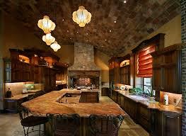 Tuscan Farmhouse Kitchen Design