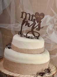 Exquisite Decoration Rustic Wedding Cake Topper Vintage Toppers