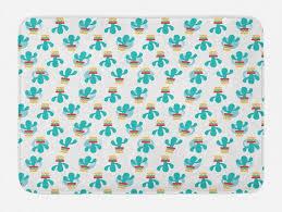 badematte plüsch badezimmer dekor matte mit rutschfester rückseite abakuhaus cinco de mayo kakteen mexikanische kaufen otto