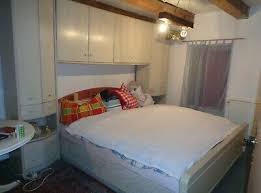 schlafzimmer komplett ehebett mit überbau und 5 türigen