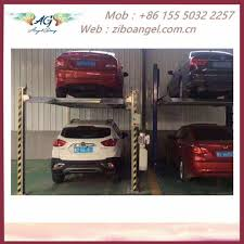 100 Car Elevator Garage Hot Item Hydraulic Vertical Parking System Stereo
