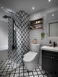 badezimmer 6 qm gestalten orieantalisch gefliest schiebewand
