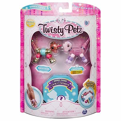 Twisty Petz Marigold Unicorn Pupsicle Puppy and Surprise Collectible Jewelry Set