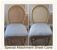 Recaning A Chair Back by Special Project Caning Emza U0027s Chair Caning U0026 Weaving