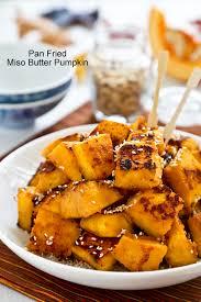 Japanese Pumpkin Recipe Roasted by Pan Fried Miso Butter Pumpkin Roti N Rice