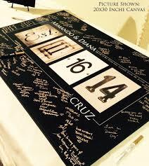 Personalized Wedding Alphabet Art Guest Book By Alphabetcanvas