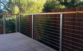 Horizontal Deck Railing Ideas by Deck Railing Posts Outdoor Design Ideas Materials Loversiq