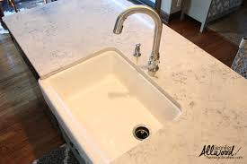 Kohler Whitehaven Sink Rack by Farmhouse Sink Tips For Your Kitchen Installation
