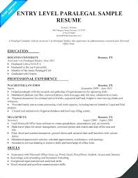 Entry Level Accounting Resumes Resume Profile Examples