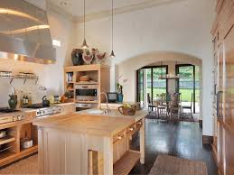 Napa Kitchen Island The Kitchen Has A Range And An Island For