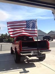 Update) First Flag Pole Wasn't Strong Enough. Made A Alumni Mine ... How To Attach A Flag The Bed Of Your Truck Youtube Holder Best Flagpole Holders Pole Chevy And Gmc Duramax Diesel Forum 2018 Tailgating Kit New Forged Authority Mount Diy Bedding Bedroom Decoration Camco Hitch Holder51611 The Home Depot Mounted Flag Pole Holder Tacoma World Am Custom 2011 Toyota Truck Bed Rail East Bolt On Product Made For My General Cversations
