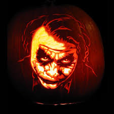 Joker Pumpkin Carving Patterns by The Craziest Pumpkin Carvings 1