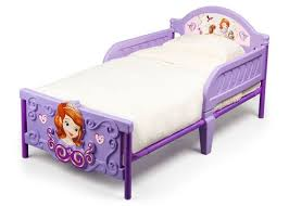 Sofia the First Plastic 3D Toddler Bed CB Furniture