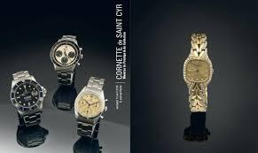 salle de vente aux encheres de cyr vente aux enchères de montres de collection le 15