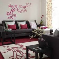 Red And Black Living Room Decorating Ideas by How To Dress Up Burgundy Carpet Home Pinterest Living Rooms