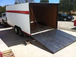 This 16 Enclosed Trailer Is Ideal For Race Minis Or Use As A General Toy Hauler Since Classic Mini Roughly 10 Long Theres Room To Spare