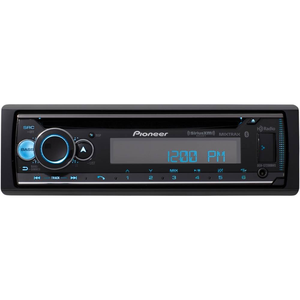 Pioneer In Dash CD Receiver - Single Din