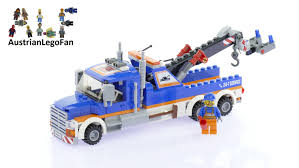 Lego City 60056 Tow Truck - Lego Speed Build Review - YouTube