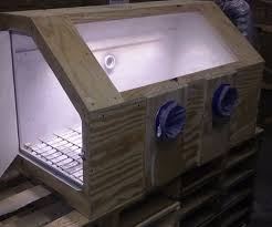 Harbor Freight Blast Cabinet Glass by Benchtop Media Blasting Cabinet 8 Steps With Pictures