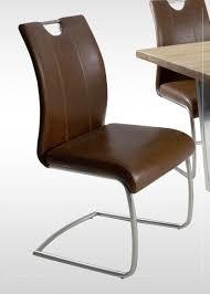 stühle stuhl artos bis 140 kg belastbar 2er set kunstleder