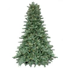 6 Ft Flocked Christmas Tree Uk by 7 5 Ft Pre Lit Led California Cedar Artificial Christmas Tree