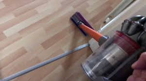 Dyson Hard Floor Attachment V6 dyson v8 on hard floors youtube