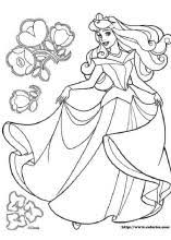 Merry Sleeping Beauty Coloring Pages Index