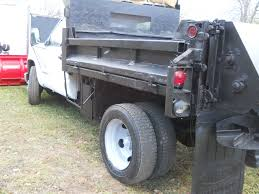 100 5 Yard Dump Truck 1994 GMC 300HD 3 YARD DUMP TRUCK W 8 12FT MEYERS SNOW PLOW