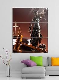 de acrylglasbilder 3 teilig 100x120cm anwalt symbol