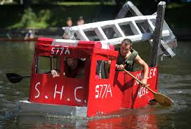 Crossing Park Cardboard Boat Races | The Daily Gazette 5 Feet Jointed Fire Truck W Ladder Cboard Cout Haing Fireman Amazoncom Melissa Doug 5511 Fire Truck Indoor Corrugate Toddler Preschool Boy Fireman Fire Truck Halloween Costume Cboard Reupcycling How To Turn A Box Into Firetruck A Day In The Life Birthday Party Fun To Make Powerfull At Home Remote Control Suck Uk Cat Play House Engine Amazoncouk Pet Supplies Costume Pinterest Trucks Box Engine Hey Duggee Rources Emilia Keriene My Version Of For My Son Only Took
