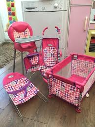Graco 5 Picece Set Baby Dolls Toys Crib, High Chair, Pushchair, Rocker ... Graco High Chaircar Seat For Doll In Great Yarmouth Norfolk Gumtree 16 Best High Chairs 2018 Just Like Mom Room Full Of Fundoll Highchair Stroller Amazoncom Duodiner Lx Baby Chair Metropolis Dolls Cot Swing Chairhigh Chair And Buggy Set Great Cdition Shop Flat Fold Doll Free Shipping On Orders Over Deluxe Playset Walmartcom Swing N Snack On Onbuy 2 In 1 Hot Pink Amazoncouk Toys Games