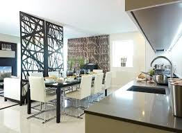 How To Separate Open Kitchen From Living Room The Stylish Divider Perfectly Separates Dining And Provides An