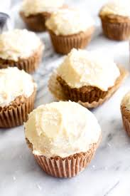 These Gluten Free Carrot Cake Cupcakes are packed with carrot cake flavor yet are gluten