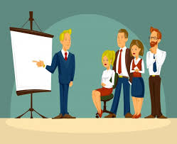 bureau homme d affaire vector illustration de bande dessinée d un homme d affaires