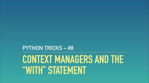 Python Decorators With Arguments by Python Context Managers And The