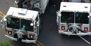 100 Garbage Trucks In Action Question Why Do Some Men Block The Streets
