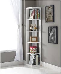 corner shelving ideas for living room shelves