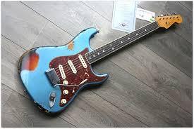 Fender Custom Shop 60s Stratocaster Binding Neck