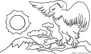 Coloring Pages Of Birds Migrating Animal Jack The Lizard Wonder World